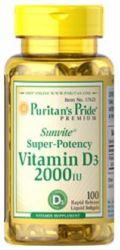 5 Puritan's Pride Vitamin D3 100ct Bottles for $13