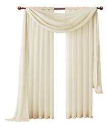 Aurora Rod Pocket Sheer Curtain Panel $7