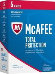 McAfee Total Protection, H&R Block Deluxe