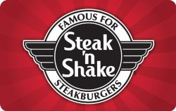 Steak 'n Shake Gift Cards: Up to 20% off
