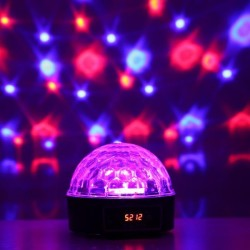 LED Crystal Magic Disco Ball Stage Light for $14