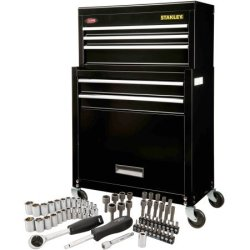 Stanley Rolling Tool Chest w/ 68pc Tool Set for $79 + free shipping
