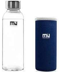 Miu Color Borosilicate Glass Water Bottles from $7