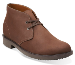 Clarks Men's Riston Style Chukka Boots for $40