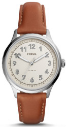 Fossil Women's Avondale 3-Hand Leather Watch $80