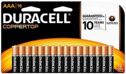 16 Duracell Batteries, $14 Office Depot GC $14