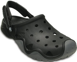 Crocs Men's Swiftwater Clogs for $28
