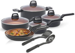 Black + Decker 12-Piece Cookware Set for $50