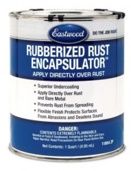 Eastwood Rubberized Rust Encapsulator 1qt Can $40