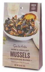 6 Sur La Table Mussel Seasoning Blend Packets $12