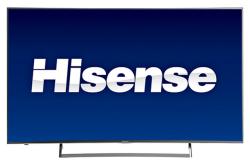 """Hisense 55"""" Curved 4K WiFi LED UHD Smart TV $480"""