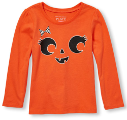 The Children's Place Kids' Halloween T-Shirts $5