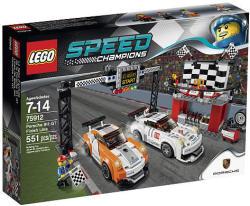 LEGO Speed Champions Porche 911GT Finish Line $30