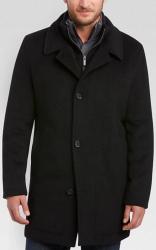Pronto Uomo Men's Wool Topcoat for $120