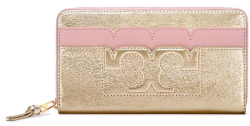Tory Burch Women's Zip Continental Wallet for $96