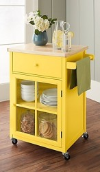 Chatham House Baldwin Kitchen Cart for $120