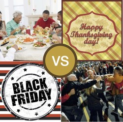 Thanksgiving vs. Black Friday vs. Cyber Monday