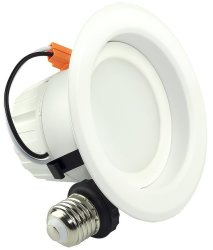 SGL 9W Dimmable Recessed LED Light 4-Pack