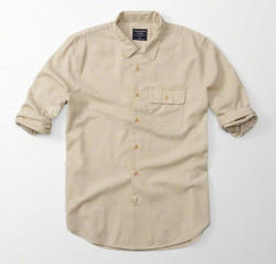 Abercombie & Fitch Men's Wool Shirt for $31