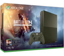 Xbox One S 1TB Consoles w/ Game for $299