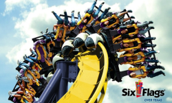 Six Flag 1-Day Admission Ticket