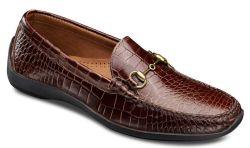 Allen Edmonds Men's Croc Print Loafers for $97