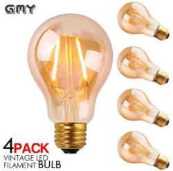 Vintage LED Light Bulb Multipacks: Up to 76% off