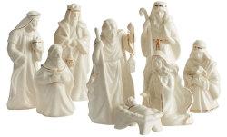 Mikasa Holiday Splendor 8-Piece Nativity Set $27