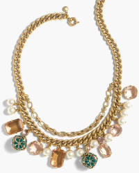 J.Crew Women's Charm Necklace for $74