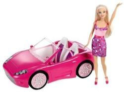 Barbie Doll w/ Convertible for $9.99 - $11.99