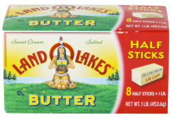 Land O Lakes 16-Oz. Butter in Quarters or Half Sticks