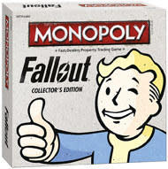 Monopoly Fallout Collector's Edition Boardgame