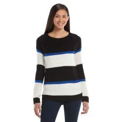 SO Juniors' Textured Pullover Sweater
