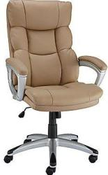 Staples Burlston Manager's Chair in Black or Camel