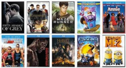 Movies Priced $13 - $24.99, Select Titles On Blu-Ray or DVD