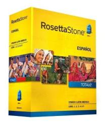 Rosetta Stone Level 1-5 Language Software