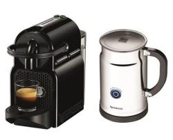 Nespresso Inissia Espresso Maker & Milk Frother Bundle