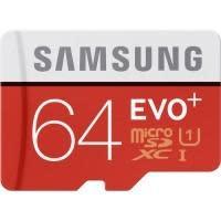 Samsung EVO+ 64GB microSDHC Class 10 Memory Card