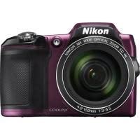 Nikon Coolpix L840 16MP 38x Digital Camera in Plum + Camera Bag & 8GB Memory Card