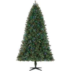 Holiday Time 7.5-Ft. Norwich Pre-Lit Quick-Set Christmas Tree