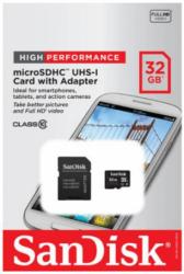 SanDisk 32GB microSD Class 10 Memory Card
