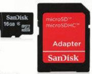 SanDisk 16GB microSD Class 4 Memory Card