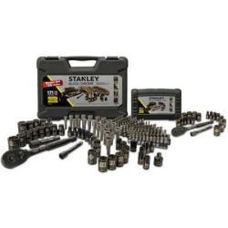 Stanley 171-Pc. Mechanic's Tool Set in Black Chrome + 19-Pc. Tool Set