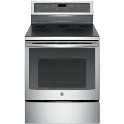 GE PROFILE Series PB911SJSS Self-Clean Electric Convection Range