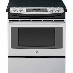 GE JS750SFSS Self-Clean Slide-In Electric Convection Range