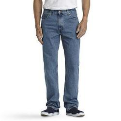 Basic Editions Men's Regular or Relaxed Fit Denim