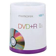 Memorex DVD+/-R Media 100-Pk.