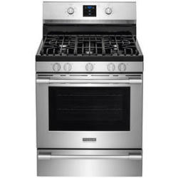 Frigidaire FPGF3077QF 5.6-Cu. Ft. Self-Cleaning Gas Convection Range in Stainless Steel