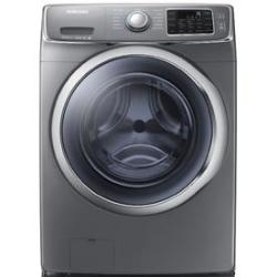 Samsung WF42H5600AP 4.2-Cu. Ft. HE Washer in Platinum w/ Steam Cycle