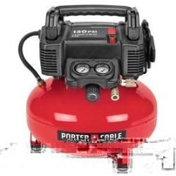 Porter Cable 6-Gallon 150-PSI Electric Air Compressor